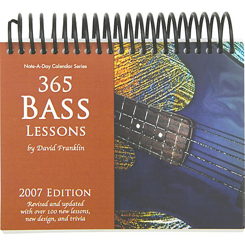 Note-a-Day 365 Bass Lessons 2007 Calendar-thumbnail