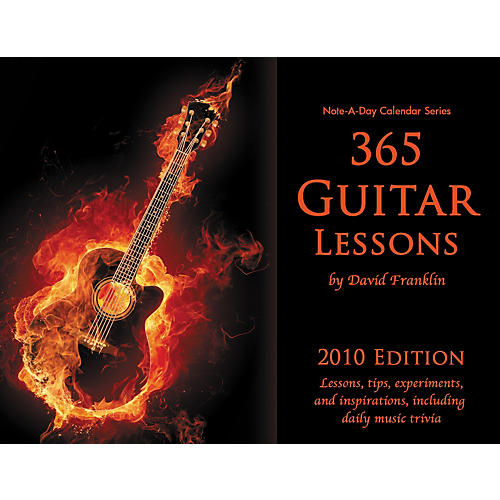 Note-a-Day 365 Guitar Lessons - 2010 Calendar