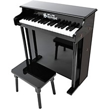 Schoenhut 37-Key Traditional Deluxe Spinet Toy Piano Black