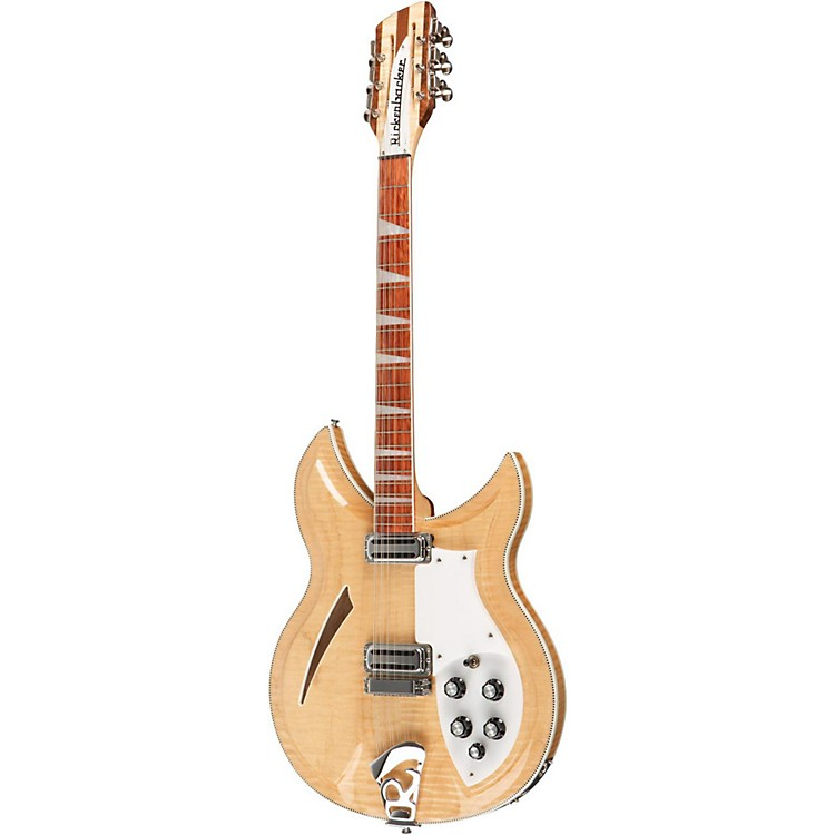 Rickenbacker 381/12V69 Vintage Series 12-String Electric Guitar Mapleglo