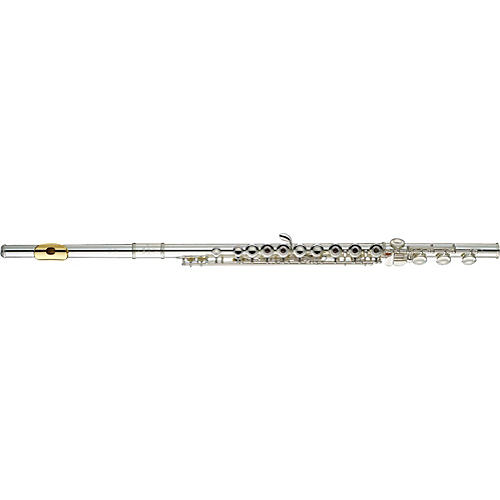 Yamaha 381 Series Intermediate Flute YFL-381H/LPGP - B Foot, Gold Lip-Plate