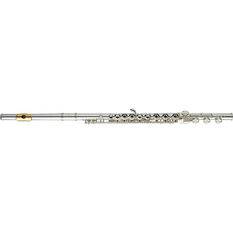 Yamaha381 Series Intermediate FluteYFL-381H/LPGP - B Foot, Gold Lip-Plate