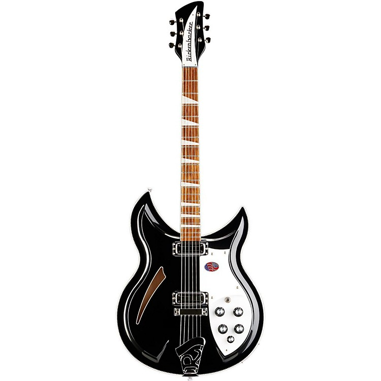 Rickenbacker 381V69 Vintage Series Electric Guitar Jetglo