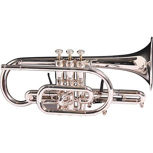 Getzen 3850 Custom Series Bb Cornet Silver