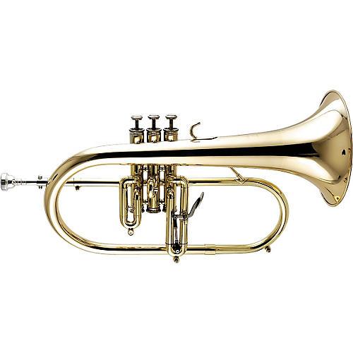 Getzen 3895 Custom Series Bb Flugelhorn Lacquer Gold Bell