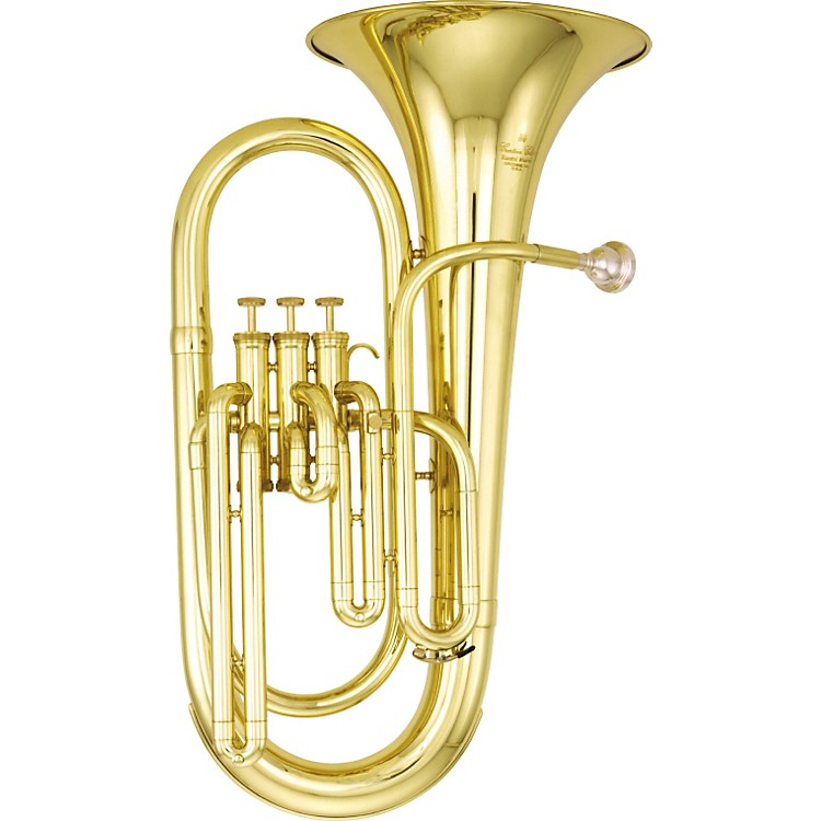 Kanstul390 Series 3-Valve Baritone Horn390-2 Silver