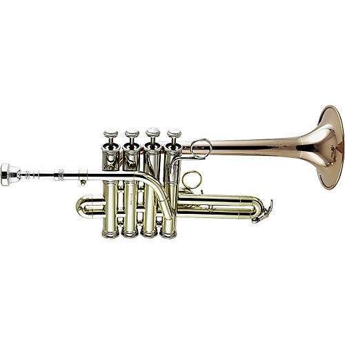 Getzen 3916 Custom Series Bb/A Piccolo Trumpet-thumbnail