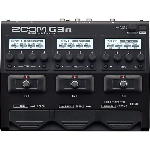 Zoom 3Gn Guitar Multi-Effects Processor-thumbnail