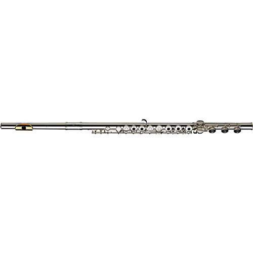 Gemeinhardt 3SHB Series Intermediate Flute Inline G, B Foot, Gold Lip-Plate