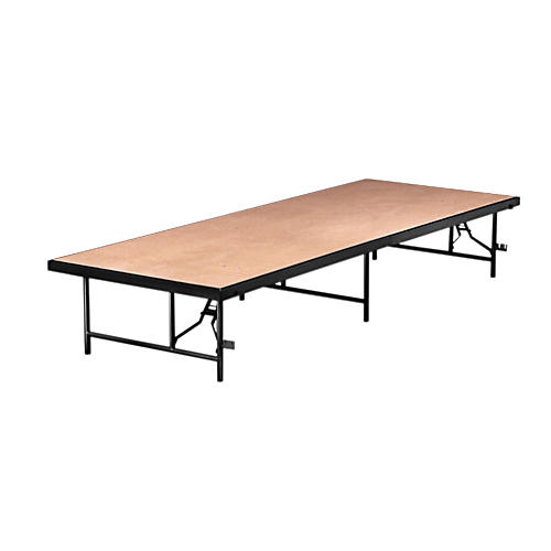 Midwest Folding Products 3x6 Single Height Portable Stage & Seated Riser 16