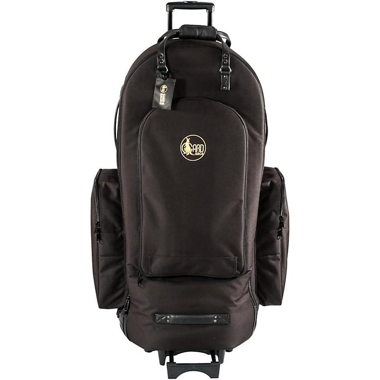 Gard4/4 Medium Frame Tuba Wheelie Bag63-WBFLK BlackUltra Leather