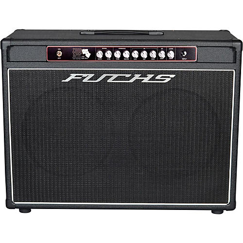 Fuchs 4 Aces 2x12 4W Tube Guitar Combo Amp and 4-Button Artist Footswitch Kit-thumbnail