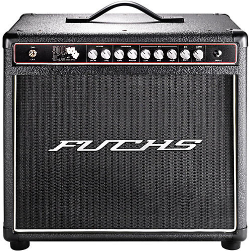 Fuchs 4 Aces 4W Tube Guitar Combo Mini-Amp and 4-Button Artist Footswitch Kit-thumbnail