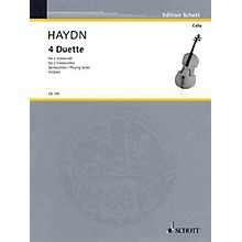 Schott 4 Duets for 2 Cellos Schott Series
