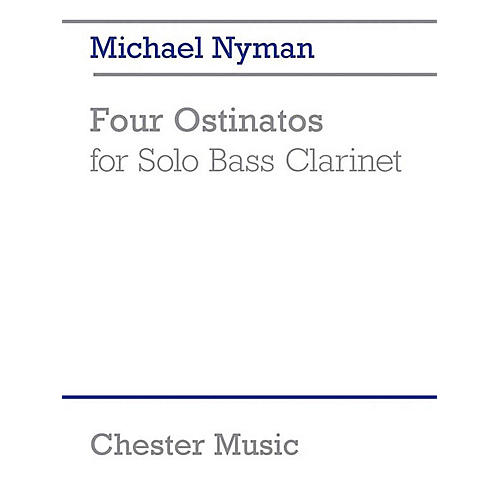 Chester Music 4 Ostinatos for Solo Bass Clarinet Music Sales America Series Softcover-thumbnail