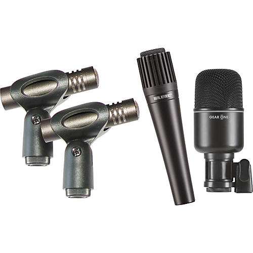 Gear One 4 Piece Power Pack Drum Mic Pack-thumbnail