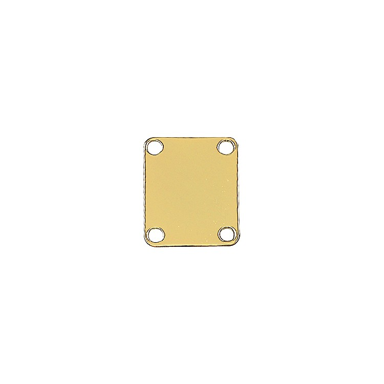 Fender 4 Screw Neck Plate Gold