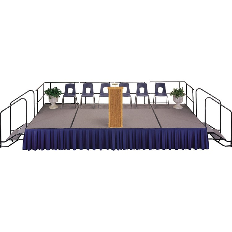 Midwest Folding Products4' x 8' Single Height Platform Riser16