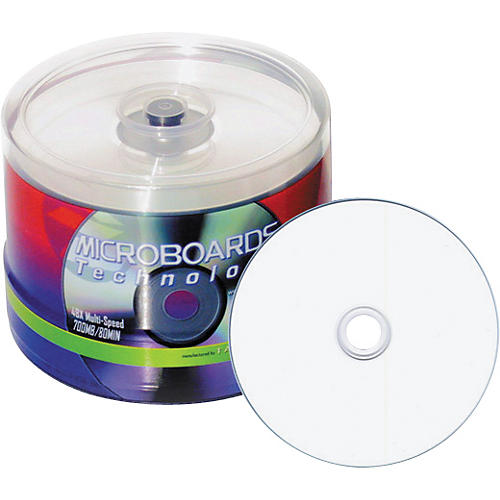 Taiyo Yuden 4.7GB DVD-R, 16X, White Inkjet Hub Printable, 100 Disc Spindle