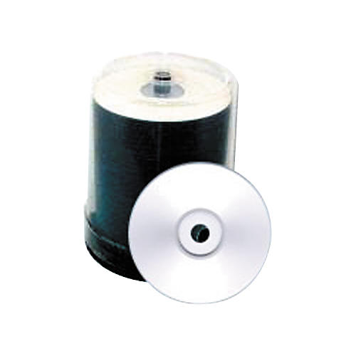 Taiyo Yuden 4.7GB DVD+R, 8X, Silver Inkjet-Printable, 100 Disc Spindle