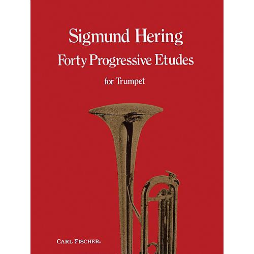 Carl Fischer 40 Progressive Etudes for Trumpet-thumbnail
