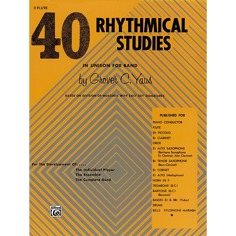 Alfred40 Rhythmical Studies Horn in F