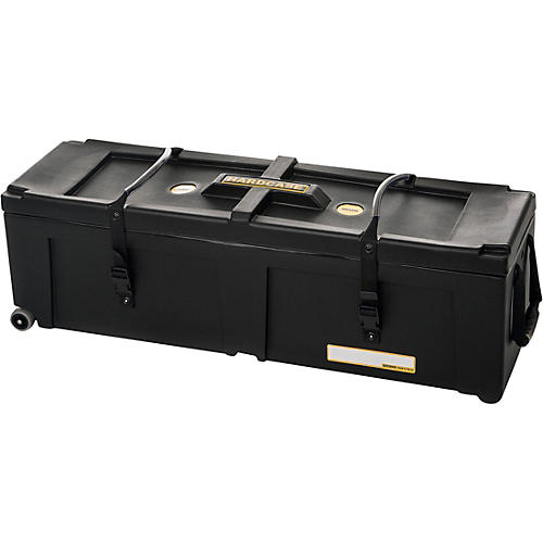 hardcase 40 x 12 x 12 in hardware case with two wheels musician 39 s friend. Black Bedroom Furniture Sets. Home Design Ideas