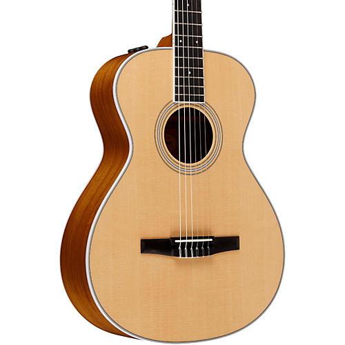 Taylor 400 Series 412e-N Grand Concert Nylon String Acoustic-Electric Guitar-thumbnail