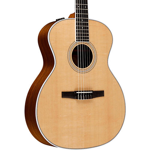 Taylor 400 Series 414e-N Grand Auditorium Nylon String Acoustic-Electric Guitar Natural