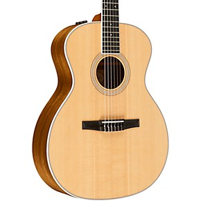 taylor 400 series 414e n grand auditorium nylon string acoustic electric guitar natural. Black Bedroom Furniture Sets. Home Design Ideas