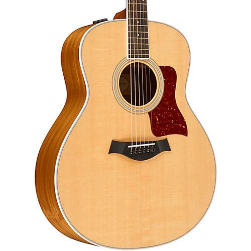 Taylor 400 Series 418e Grand Orchestra Acoustic-Electric Guitar Natural-thumbnail