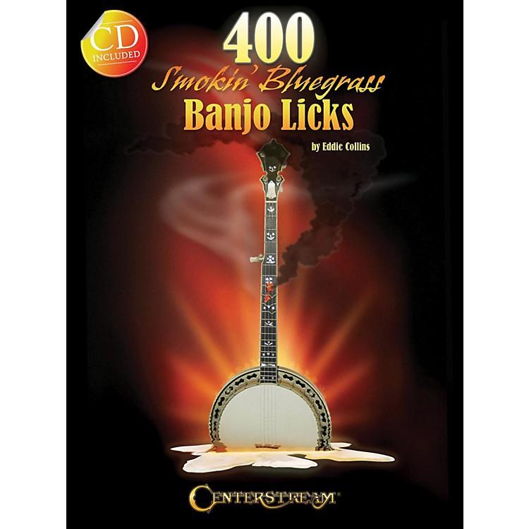 Hal Leonard400 Smokin' Bluegrass Banjo Licks Book/CD