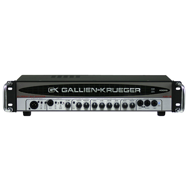 Gallien-Krueger 400RB-IV 280W Bass Head Black