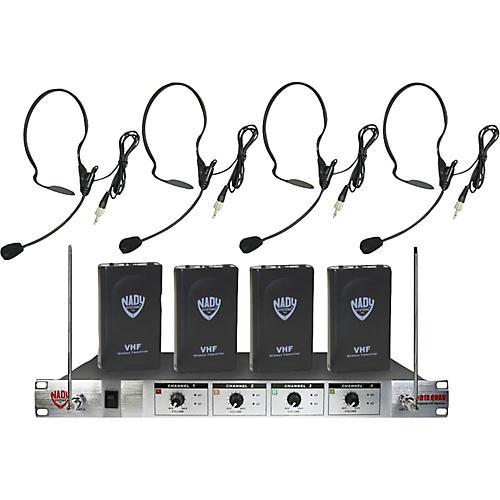 Nady 401X Quad HM-3 Headset Wireless System