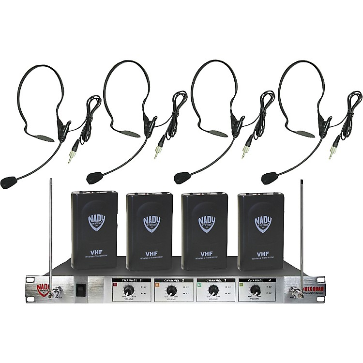 Nady 401X Quad HM-3 Headset Wireless System