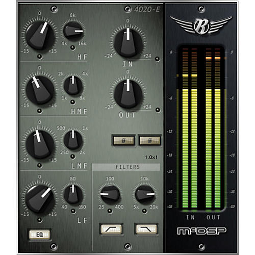 McDSP 4020 Retro EQ HD v6 Software Download