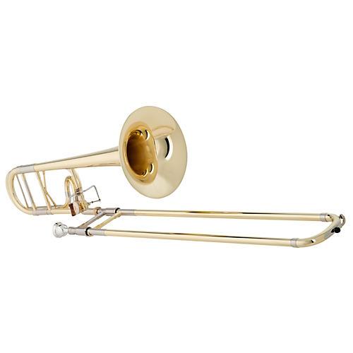 Getzen 4047DS Custom Reserve Series F Attachment Trombone Lacquer Yellow Brass