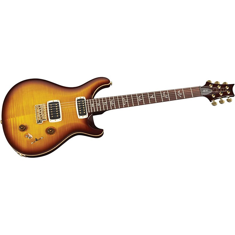 PRS408 Flame Top with Pattern Thin Neck and Gold Hardware
