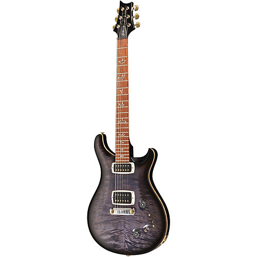 PRS 408 Quilt Top Stoptail with Hybrid Hardware and Pattern Thin Neck Electric Guitar Purple Hazel