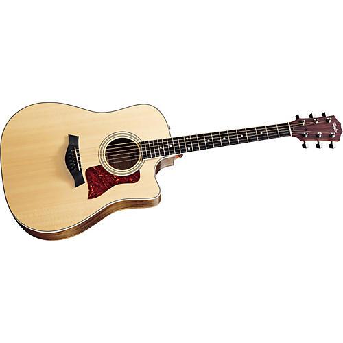 Taylor 410-CE Dreadnought Cutaway Acoustic-Electric Guitar (2011 Model)-thumbnail