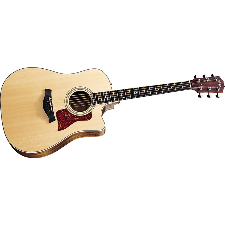 Taylor410-CE Dreadnought Cutaway Acoustic-Electric Guitar (2011 Model)