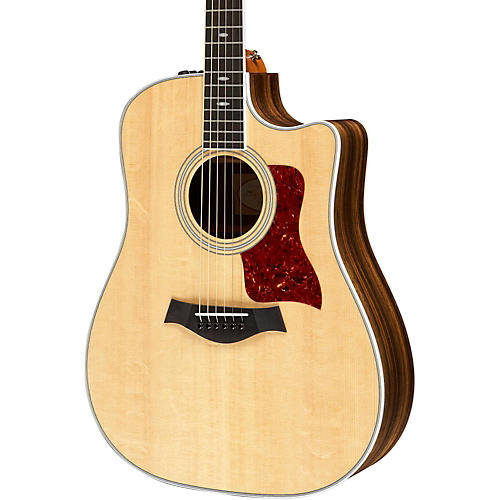 Taylor 410ce Ovangkol/Spruce Dreadnought Acoustic-Electric Guitar Natural