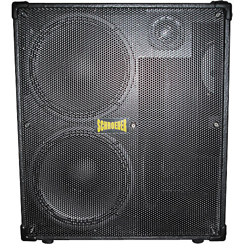 Schroeder 412 Light Bass Cabinet 4 Ohm