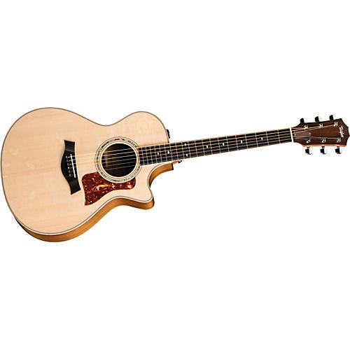 Taylor 412CE Limited Edition Tasmanian Blackwood Grand Concert Cutaway Acoustic-Electric Guitar-thumbnail
