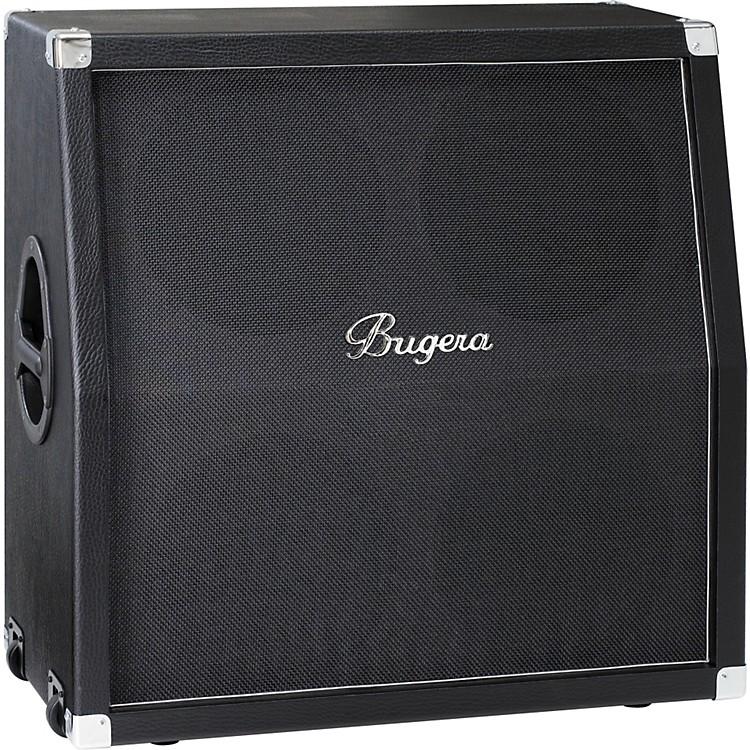 Bugera412H-BK 200W 4x12 Guitar Speaker CabinetBlackSlant