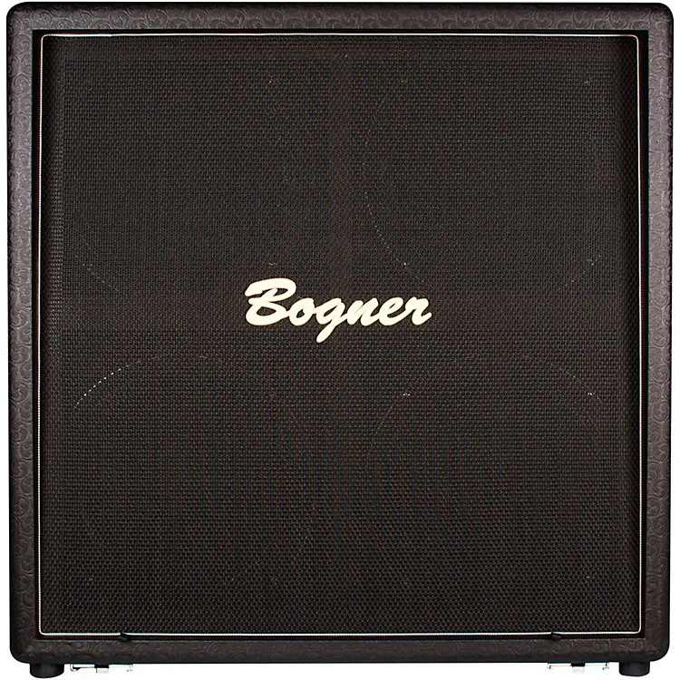 Bogner412STU 210W 4x12 Uberkab Guitar Speaker CabinetBlackStraight