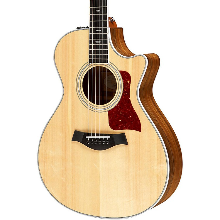 Taylor412ce Ovangkol/Spruce Grand Concert Acoustic-Electric GuitarNatural