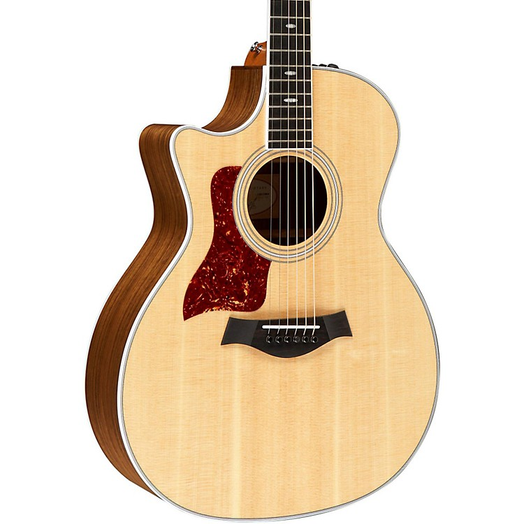 Taylor 414ce-L Ovangkol/Spruce Grand Auditorium Left-Handed Acoustic-Electric Guitar Natural