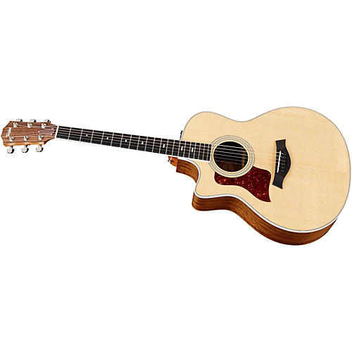 Taylor 416ce-L Ovangkol/Spruce Grand Symphony Left-Handed Acoustic-Electric Guitar