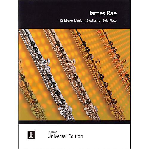 Carl Fischer 42 More Modern Studies for Solo Flute-thumbnail